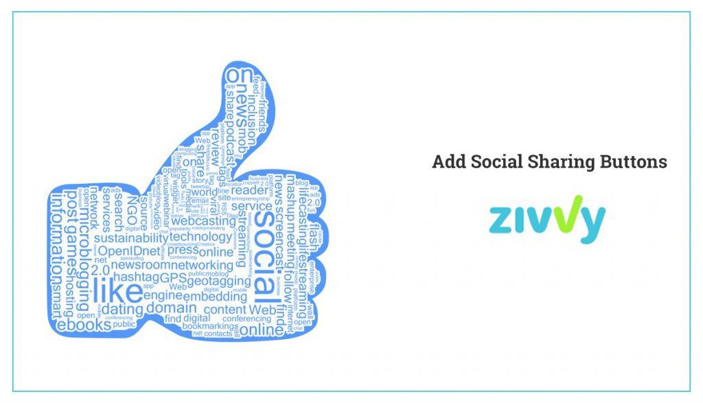 Add Social Sharing Button