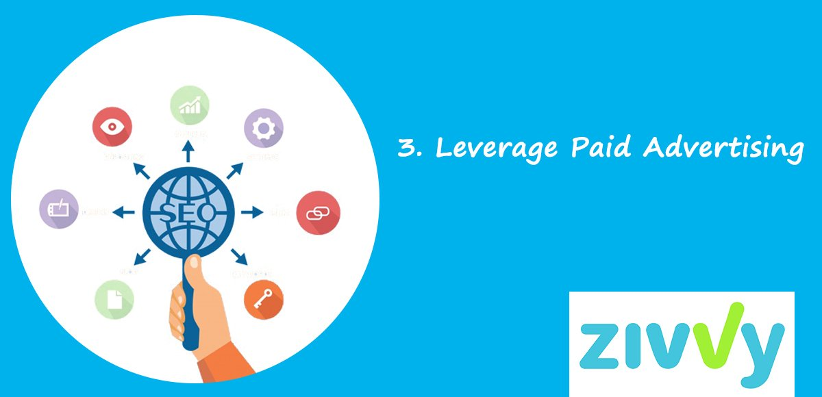 3. Leverage Paid Advertising